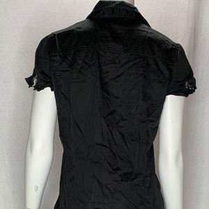 Esprit Dresses - Esprit Black Dress Cap Sleeves Size 8